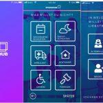 """Die neue App """"Pflegehub"""" ist ab sofort im Apple App und Google Play Store erhältlich."""