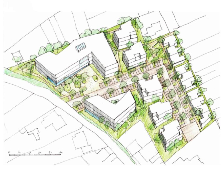 """HCRE investiert im Kreis Heinsberg und kauft  Grundstück des Hotels """"Doverener Mühle"""" in  Hückelhoven"""