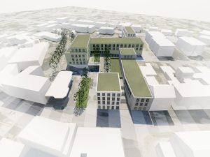 HCRE Projektisometrie Marktplatz Meckenheim